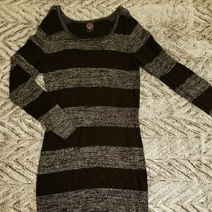 Torrid long sleeve sweater dress